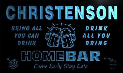 q18061-b GUHL Family Name Home Bar Beer Mug Cheers Neon Light Sign