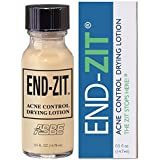 End-zit Acne Control Drying Lotion (Light/Medium), 0.5 Ounce
