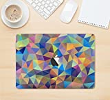 The Colorful Vibrant Triangle Connect Pattern Full-Body Wrap Skin Kit for the 13 Inch Apple MacBook Air