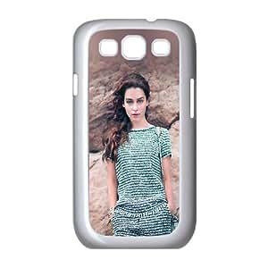Samsung Galaxy S3 9300 Cell Phone Case White_Emilia Clarke Posing Hfhfv