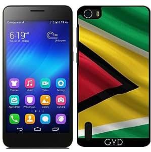 Funda para Huawei Honor 6 - Bandera De Guyana by Carsten Reisinger
