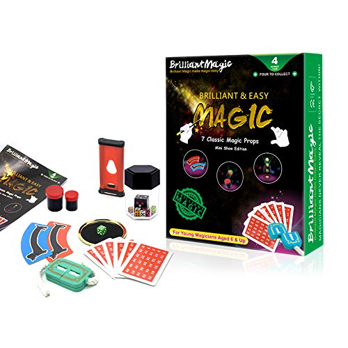 BrilliantMagic Magic Tricks for Kids Classic Kids Magic Set Children Magic Kit(Green) (Mini Kids Chopper)