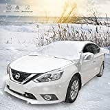 Car Windshield Snow Cover, IREGRO Snow Shade Protector Rain Resistant Protection Cover for SUV and More Vehicles