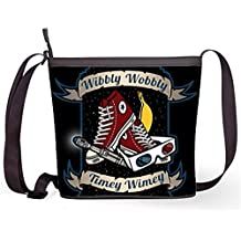 Fashion Casual and Popular Female Sling Bag Crossbody Bag Shoulder Bag with Doctor Who Print