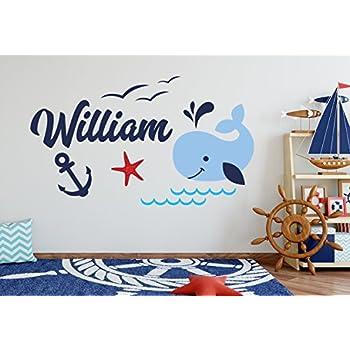 18 W x 14 H Custom Koala Name Wall Decal for Boys Animal Theme Nursery Baby Room Mural Art Decor Vinyl Sticker LD15