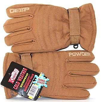 Amazon.com: KINCO Waterproof Winter Ski Gloves for Cold