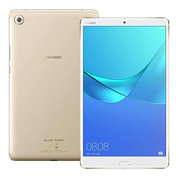 Huawei Media Pad M5 (Sht Al09) 8.4 Inches 4 Gb/64 Gb Factory Unlocked Tablet Pc   International Stock No Warranty (Champagne Gold) by Huawei