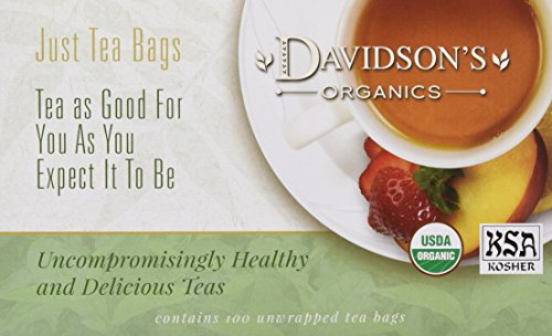 Davidsons Tea Coconut Vanilla 100 Count product image