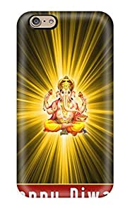Durable Defender Case For Iphone 6 Tpu Cover(god Ganesh)