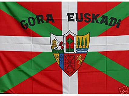 Grand Bandera de Pais Vasco Gora Euskadi 150*90 cm Satén Durabol .: Amazon.es: Hogar