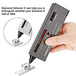 Diamond Tester, Portable Electronic Diamond Tester for Diamond, Sapphire, Ruby, Crystal, Agate, Jade, Stone Hardness Gems Testing Tool.