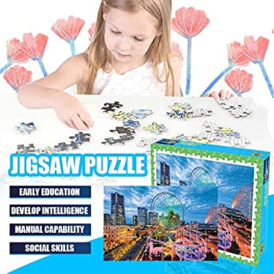 300 Pieces Jigsaw Puzzle for Kids Adults, Landscape Pattern Children Puzzle Game Interesting Toy Personalized Gift (A): Arts, Crafts & Sewing