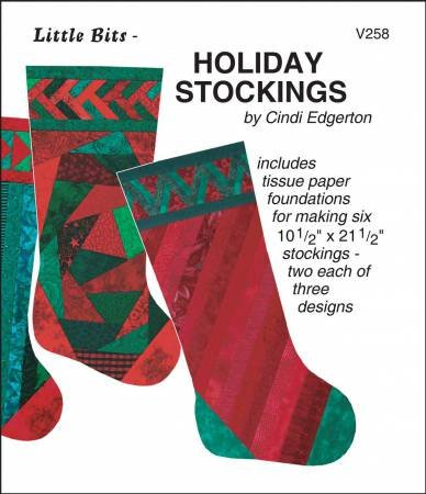 - Little Bits Quilted Holiday Stockings Pattern