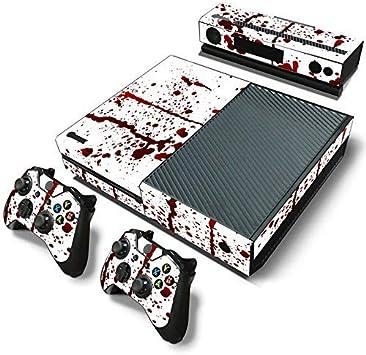 Mcbazel Calcomanías de la Serie Pattern Pegatinas de Vinilo para Xbox One (Sangre): Amazon.es: Videojuegos