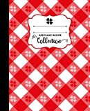Picnic Kitchen Tablecloth Blank Keepsake Recipe Book Cookbook: Favorite Recipes Custom Journal Notebook Organizer With Notes