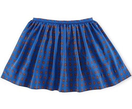 (Ralph Lauren Little Girls' Paisley Print Skirt Size 5 Blue)