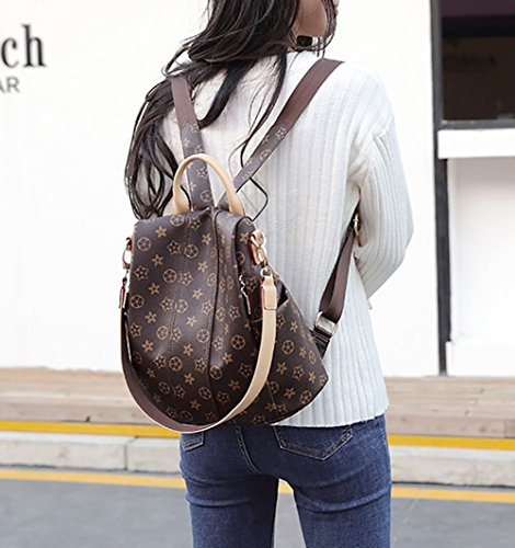 High Messenger Bag Multi Bag Printed Shoulder Bag Women's Bag Personalized Student School Backpack Bag Old Shoulder Backpack Shoulder Function TfZIw5