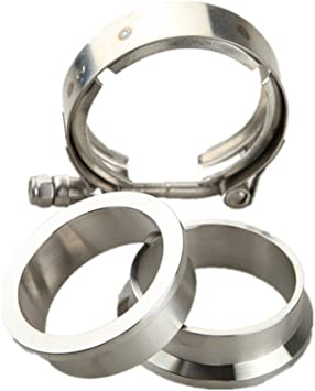 """Verocious Motorsports 304 Stainless Steel V-Band Flange 3/"""" Male"""