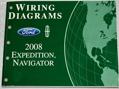 2008 ford expedition lincoln navigator wiring diagrams ford motor Amc Amx Wiring Diagram 2008 ford expedition lincoln navigator wiring diagrams ford motor company amazon com books