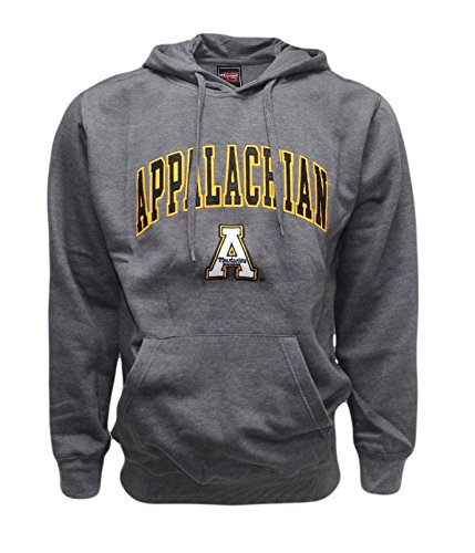 Genuine Stuff Men's Appalachian Mountaineers Embroidered Sweatshirt Extra Large