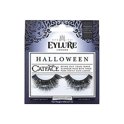 ハロウィーンまつげ x4 - Eylure Halloween Catface Eyelashes (Pack of 4) [並行輸入品] B0727R5LW2