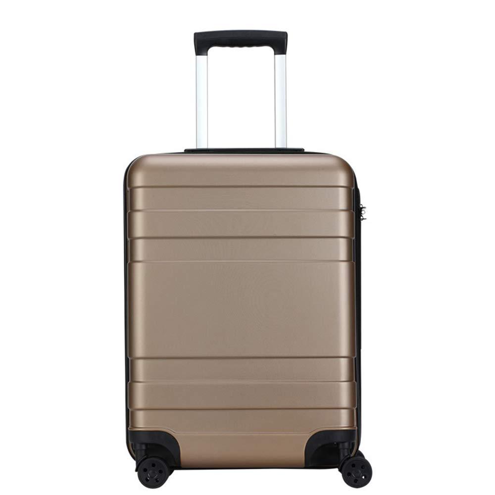 20/24インチキャリーオンラゲッジ、TSAロック付き荷物、トラベルバッグトロリースーツケースホイール、軽量で丈夫な旅行用荷物 B07QSR2Z4Y Caramel 24inch