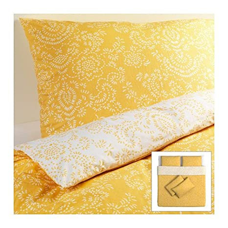 Amazon.com: IKEA AKERTISTEL - Quilt cover and 4 pillowcases ...