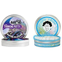 Thinking Putty: Super Scarab + Northern Lights, Set of 2 Big Tins