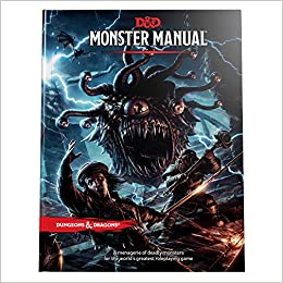 Dungeons Dragons Monster Manual Core Rulebook DD Roleplaying