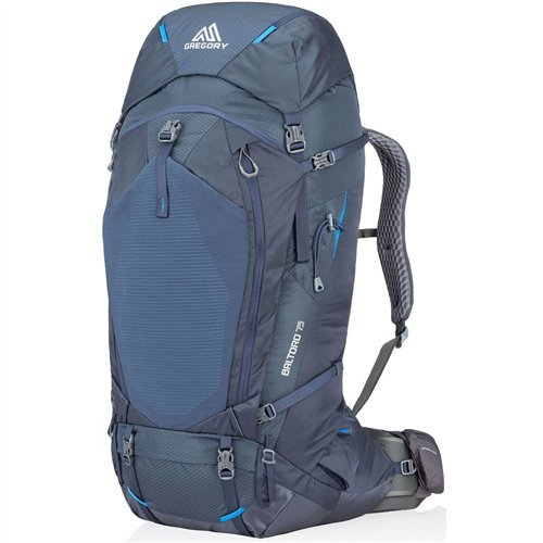 Gregory Mountain Products Baltoro 75 Backpack, Prussian Blue, Large For Sale