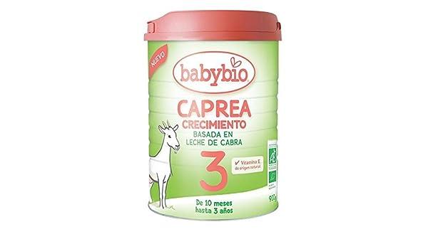 Leche de Cabra BIO Caprea 3 (desde 10 meses) babybio 900 g: Amazon.es: Hogar