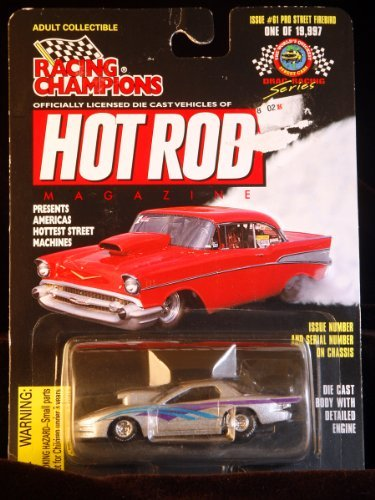 Racing Champions - Hot Rod Magazine - Pro Street Firebird Scale 1:63 - Limited Edition 1/19,997 - Issue ()