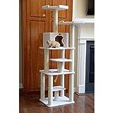 Cheap Armarkat Classic Cat Tree Ivory/14″D x 81″W x 201″H