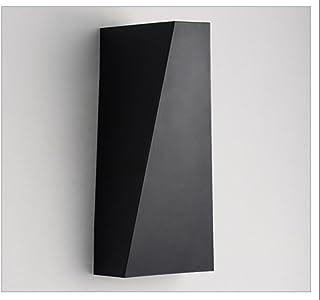 Led rettangolare in alluminio Aisle lampada da comodino Lampada da parete Lampada (colore : Luce calda-10w45*100 * 220mm)