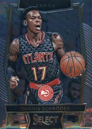 9d10e0814 Amazon.com  2016-17 Panini Select  52 Dennis Schroder Atlanta Hawks ...