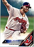 2016 Topps Update #US264 Cody Anderson Cleveland Indians Baseball Card in Protective Screwdown Display Case