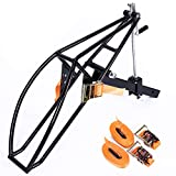 ECOTRIC New Motorcycle Receiver Hitch Hauler Trailer Tow Dolly Rack Carrier