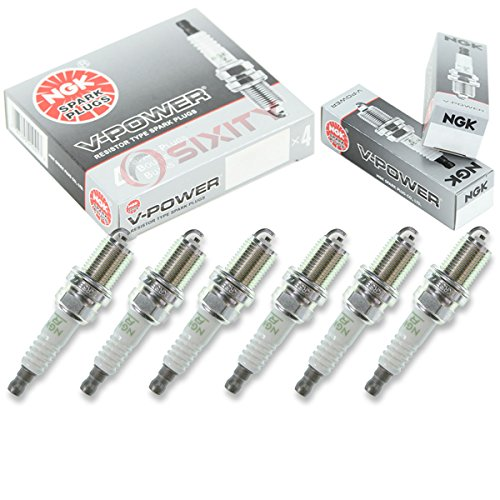 NGK V-Power 6pcs Spark Plugs Mitsubishi Galant 01-03 3.0L V6 Kit Set Tune Up
