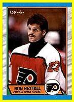 1989-90 O-Pee-Chee #155 Ron Hextall PHILADELPHIA FLYERS