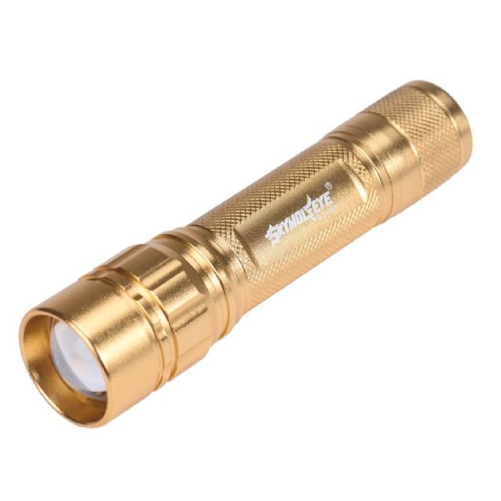 LED Flashlight,IEason Mini 3500LM Zoomable CREE Q5 LED Flashlight 3 Mode Torch Super Bright Light Lamp (M)