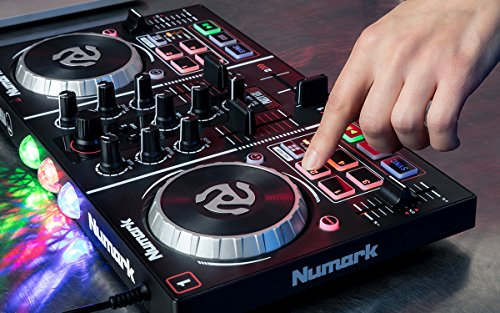 Details about Numark Party Mix Two-Channel Plug-And-Play DJ Controller for  Serato DJ Intro w