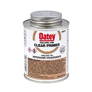 Oatey 30751 House Primers, 8 oz, Clear