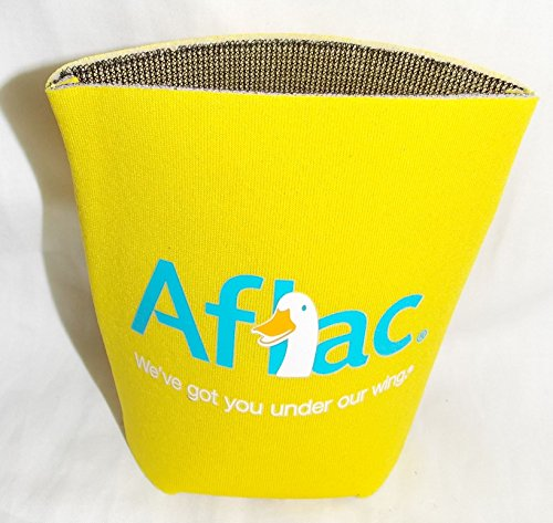 Aflac Duck Yellow Can Holder