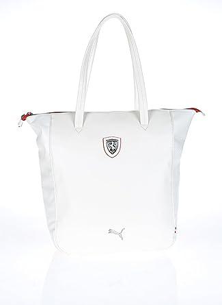 c037e3253b Sac à main Puma Ferrari noir LS, taille unique, couleur blanche Ferrari LS  Whisper blanc-rouge: Amazon.fr: Vêtements et accessoires
