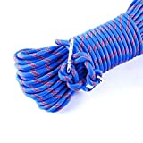 15M49ft-300kg-3KN-Safety-Rock-Climbing-Rope-Perfessional-Rappelling-Auxiliary-Diameter-10mm100Quality-assurance-New