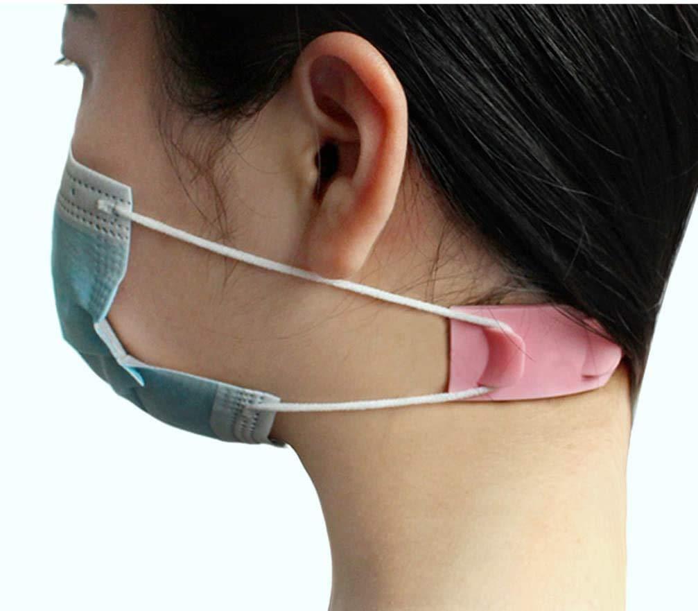 PANGHU 5pcs Mascarilla Gancho para la oreja M/áscara bucal Loops para los o/ídos Extensi/ón del cable del o/ído Hebilla Protectores auditivos Accesorios para usar Mascarilla