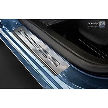 Autostyle 2/15016 INOX - Protector para umbral de Puerta, Color Plateado: Amazon.es: Coche y moto