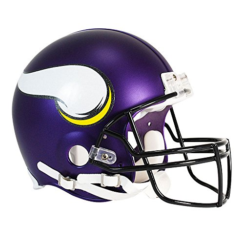 Minnesota Vikings Officially Licensed NFL Proline VSR4 Authentic Football Helmet by Riddell