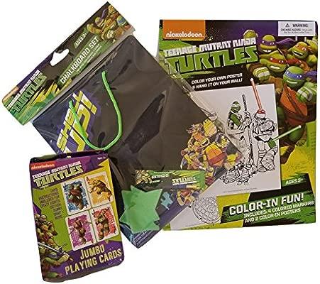 Teenage Mutant Ninja Turtles - Juego de regalo (3 piezas ...