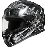 Shoei Diabolic Feud RF-1100 Street Bike Racing Motorcycle Helmet - TC-5 / Medium